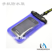 bags ect - High quality PVC Waterproof Phone Bag Case Underwater Pouch For Samsung or iphone All mobile phone Watch ect fly fishing tackle