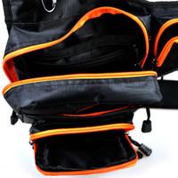Оптово-Piscifun 22x8x19cm Открытый Талия Black Pack Многофункциональный водонепроницаемый сумки Зимняя рыбалка на льду рыболовные снасти нахлыстом сумка