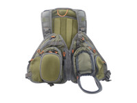 bench vest - Fly Vest Backpack Superior Quality Fly Bench Pockets Camel Pack