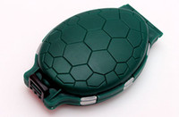 abs turtles - compartments ABS Turtle type parts box lures the fittings box pin accessory storage durable