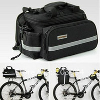 bicycle tool bag - Bicycle big Bag man hot J023 NEW Cycling Bike Rear Seat hiking sport outdoor travel camping package
