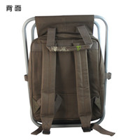 backpack tool box - Multifunctional fishing gear ice pack gear box Fishing chair backpack shoulder bag special fishing