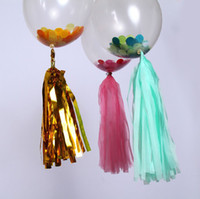 baby tissues - Tissue Tassels Garlands Banners Wedding Party decoration baby shower birthday party