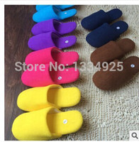 Wholesale Flock House Women Slippers Men Shoes Indoor Warm Slippers Cotton Slippers Home Floor Slippers