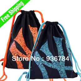 Wholesale Limited Cinch Bag skate football basketball trainning sports backpack luggage amp travel outdoor mochila best quality saco