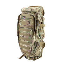 army camping bag backpack - Fashion Cp Camouflage Military Usmc Army Tactical Molle Nylon Hiking Hunting Camping Rifle Backpack Bag