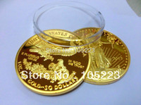 gold bullion - Oz Gold Plated American Liberty Eagle Coin Bullion year No Copy