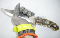 Wholesale Safety Cut Proof Protect Glove Stainless Steel Metal Mesh Butcher Gloves