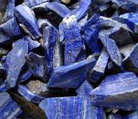 Crystal healing stones - Natural lapis lazuli crystal stone ore gems stone nunatak energy stone Healing