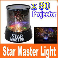 Wholesale 80PCS New Cosmos Star Master Sky Starry Projector Lighting Light Lamp Stage Lighting amp Effects EMS