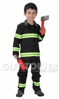 Wholesale kids boys Fireman costumes cosplay costumes for boys halloween cosplay costumes for kids children cosplay costumes