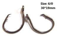 Wholesale Size Stainless steel fishook tuna circle fishing hooks