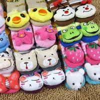 animal walking patterns - Pairs Baby Lovely Animal Pattern Available Anti slip Walking Socks Baby Sock Kid Gift Christmas Children Retail