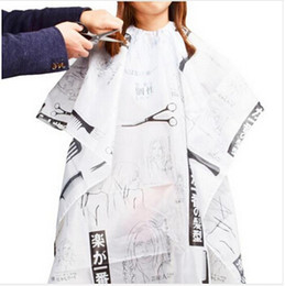 Wholesale-Hairdressing Hair Design Cut Salon Barber Nylon Gown Cape Cloth hairdresser hairdressing cape hair cutting cape