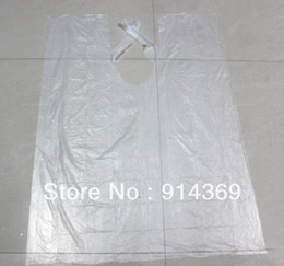 Wholesale-100 pieces lot ,Wholesale Disposable Hair cutting Cape  hair cape hair salon cape