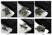 Wholesale Fashion Zodiac Cufflinks Men s Accessories Cuff links Alloy Cuff button Quality Sleeve Button