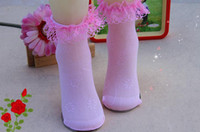 baby girl sections - Children dancing baby girl lace socks princess lace socks thin section students socks breathable socks