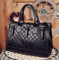 Totes brand name designer handbag - Hot hight quality Fashion famous brand name pra shoulder purses bags for women leather designers women handbags