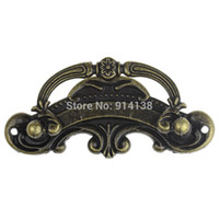 Handle antique metal jewelry box - Jewelry Cabinet Cupboard Box Handle Drawer Pull Antique Bronze Pattern Carved cm x cm B01448