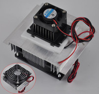Wholesale Freeshipping Thermoelectric Peltier Refrigeration Cooling System Kit Cooler fan