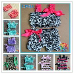 Wholesale Fashion Petti Sunsuite for Baby Hot Summer Bikini rompers Swim suit sets