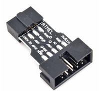avrisp mkii - Pin to Pin Adapter Board for AVRISP MKII USBASP STK500 High Quality