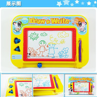 baby slate - New Hot Small slate color magnetic drawing board color tablet baby learning essential painting supplies