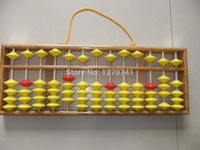 Wholesale high quality column wood hanger Abacus Chinese soroban Tool In Mathematics Education for teacher XMF018