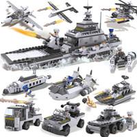 Wholesale Simple packet XBL13007 Playmobil Military Star Wars Spaceship Building Blocks Sets Montessori Brick Boy Toys Brinquedos Meninos