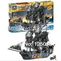 Wholesale KAZI large D Construction eductional Bricks Building Block Sets pirates king Enlighten toys for children