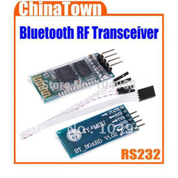 Wholesale HC Wireless Serial Pin Bluetooth RF Transceiver Module RS232 TTL New for Arduino Drop Shipping