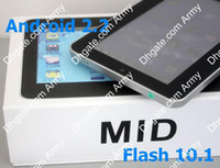 Wholesale 7 Inch Epad G Android Version resistance touch screen Via Camera MHz Wifi Tablet PC