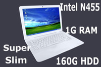 Wholesale 13 inch Intel Atom inch Laptop no DVD Drive Intel Atom N455 GB RAM G Netbook