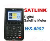 Wholesale Satlink WS6902 DVB S Digital Satellite Signal Finder Meter Satellite Finder Meter Spectrum Analyzer