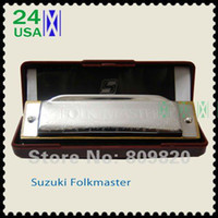 Diatonic bb harmonica - New silver Suzuki Folk Master Harmonica Hole Blues Key of C do Diatonic A Bb D E F G