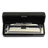 Wholesale H76 New Silver Swan Harmonica Holes Key of C for Blues Rock Jazz Folk Harmonicas