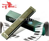 b organ - New harmonica holes C D E F G A B C A D F G keys tremolo mouth organ for beginner instrumentos musicais