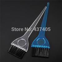Brush Hair Brush Plastic Wholesale-Free Shipping 2pcs lot Pro Plastic Salon Hair Bleach Tint Perm Application Dye Coloring Brush Comb