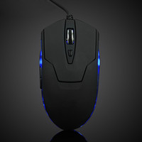 Cheap 2000 gaming mouse Best Wired 3D new professional