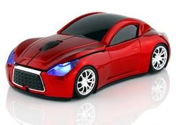 2017 le sport pc Souris gros-Nouvelle Mode Infiniti Sports Car 2.4GHz Wireless Mouse 1600dpi Optical Gaming Mouse pour ordinateur PC Livraison gratuite le sport pc sur la vente