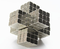 Wholesale mm silver magic magnetic bucky cubes square bucky ball magnets neocube cubes table toys