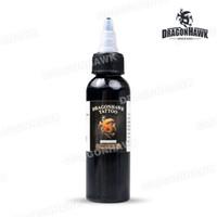 Оптово-дракондор INK TATTOO 1-PACK Черный цвет 2OZ Бутылки Цвет чернил SL048