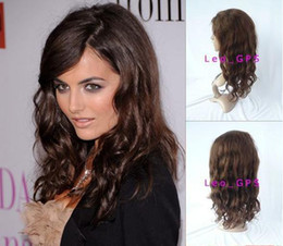Wholesale Cheap quot front wig Body Wave Light Brown human hair front wigs in stock