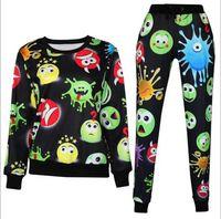 Women . Regular Wholesale-New Women Mens Emoji Joggers Harem Pants For Boys Girl Casual 3D Printed Cartoon Jogger Trousers Pant Outfit Suit Plus Size XL