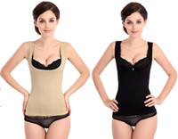 Firm Acrylic,Lycra solid color Wholesale-Autumn Winter Women's Tummy Control Under bust prevent chest sagging Thigh Body Shapewear Body Figure Shaper shaping breast
