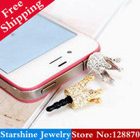apple store order - Min Order Mix PL01003 rhinestone small for apple mobile phone dust plug Min Order Mix Store