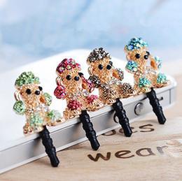 Wholesale Min order is Mix order Lovely Poodle mm Headphones Dust Plugs DP113