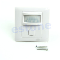 . ac automatic - M89 New IR Infrared Motion Sensor Automatic Light Lamp Switch V V AC