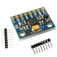 accelerometer gyroscope arduino - MPU Three axis accelerometer sensor Module gyroscope DOF GY for Arduino project