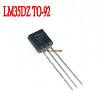 Wholesale Precision Centigrade Temperature Sensors LM35 LM35DZ TO92 TO